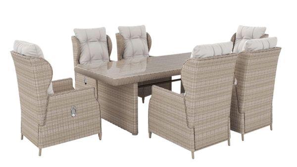 Outdoor Möbel Set Ibiza ohne Motiv