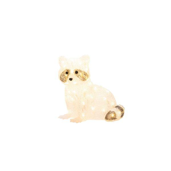 LED-Deko-Figur Waschbär Timmy