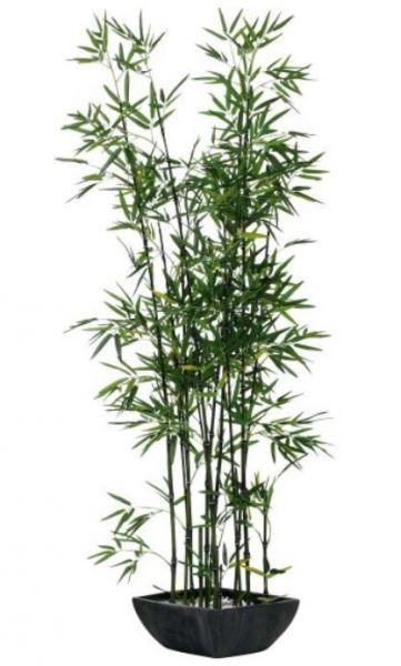 Kunstpflanze Bambus Polyestergewebe