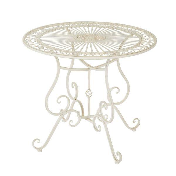 Outdoor Tisch Versailles altweiß