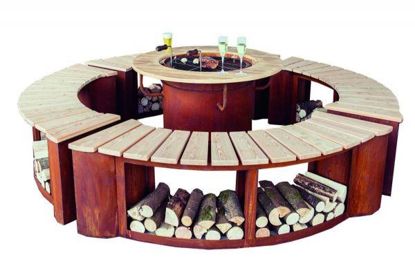 Grillplatz für 8 bis 10 Personen
