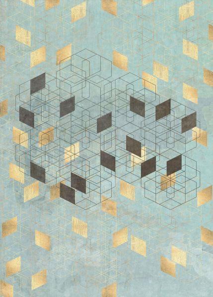 Fototapete Geometric
