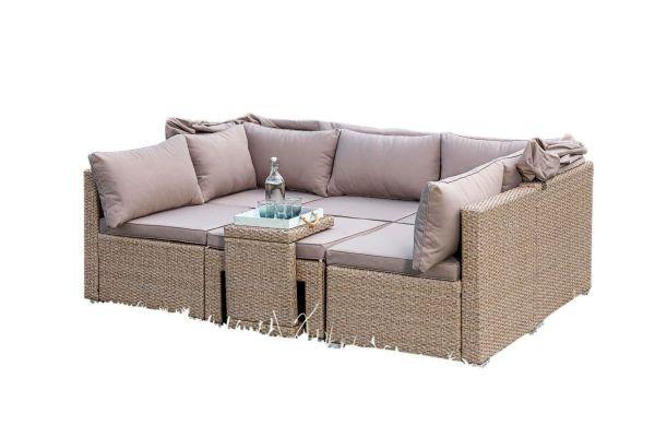 Outdoor-Lounge-Set Freya Taupe