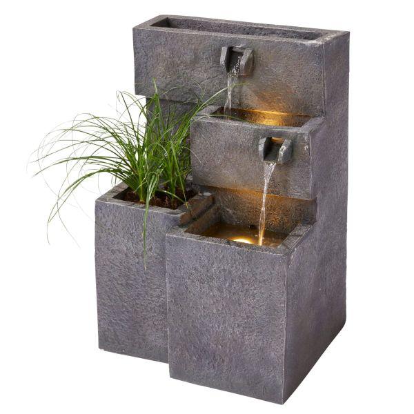 Outdoor-Brunnen Plant Anthrazit