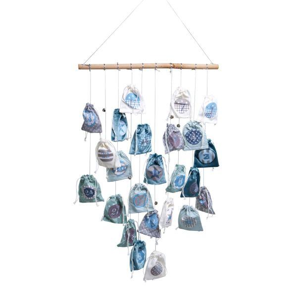 Adventskalender mit Lichterkette Magic Bags