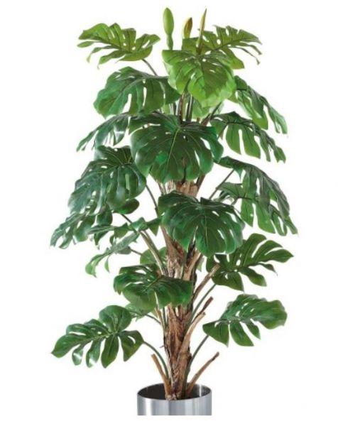 Kunstpflanze Philo-Baum mit Naturstamm