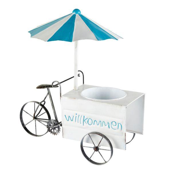 Pflanztopf Eiscreme-Wagen Bunt