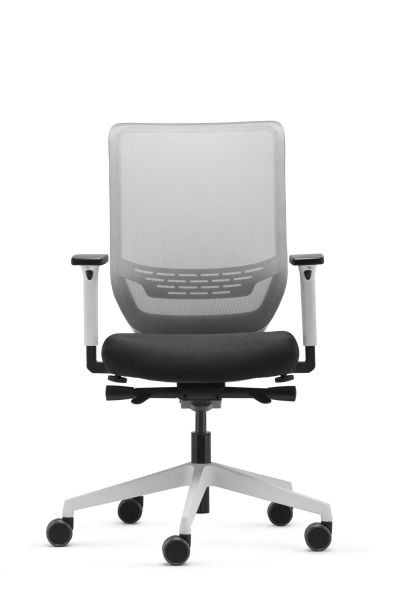 Ergonomischer Bürodrehstuhl Ben Weiß