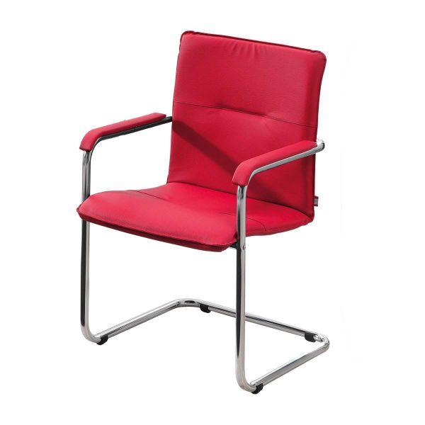 Besucherstuhl-Set, 2-tlg. Rumba Rot