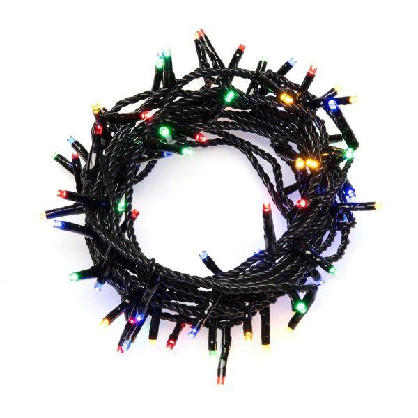 LED-Lichterkette Bunt groß