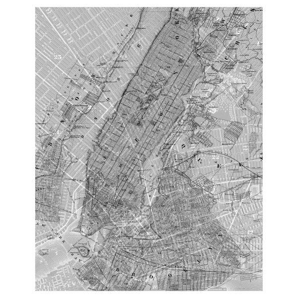 Digitaldruck Fototapete New York