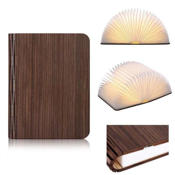 Design-Deko-Leuchte Book