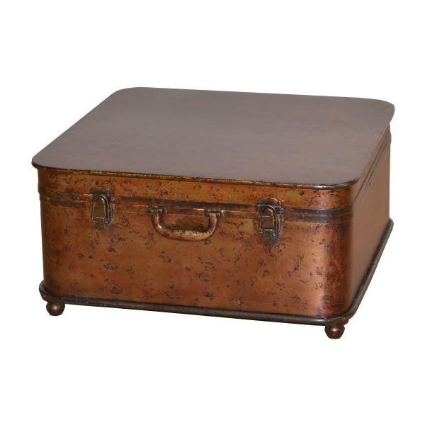 Couchtisch Koffer Braun
