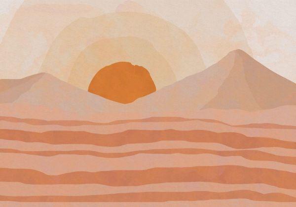 Fototapete Sahara