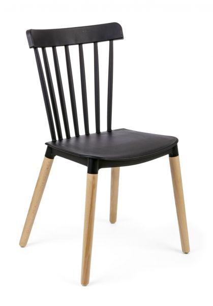 Stuhl-Set, 4-tlg. Diego Schwarz