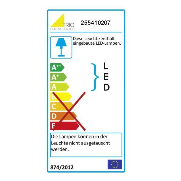 TRIO LED-Wandleuchte,2 x 3,8W