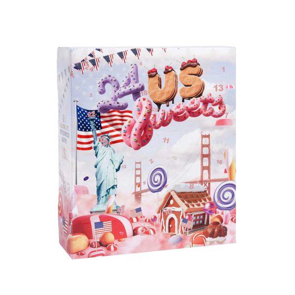 Adventskalender Süßigkeiten USA