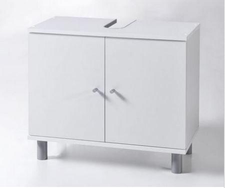Waschbecken-Unterschrank. in Weiß