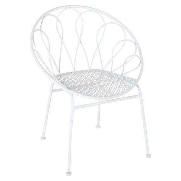 Outdoor-Stuhl Becky Weiß