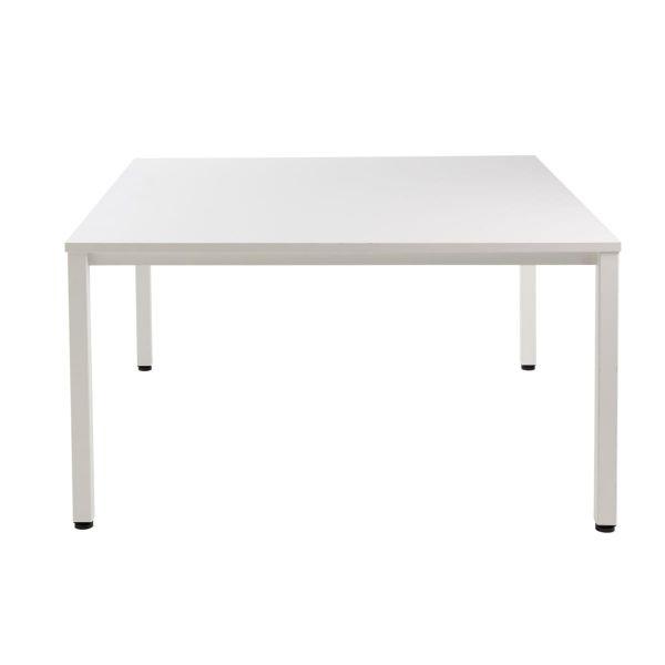 Konferenztisch Marcel Weiß 140 x 140 cm