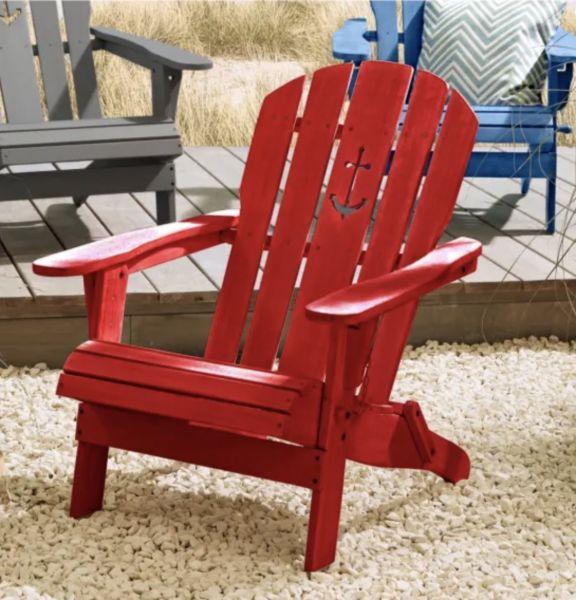 Outdoor Stuhl Anker in 4 Farben