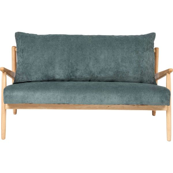 Sofa Fiete Natur/Blau