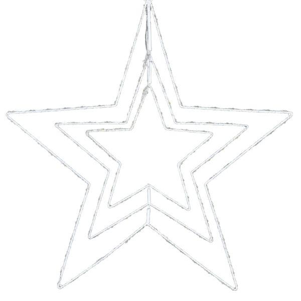 LED-Stern Mobilé Weiß