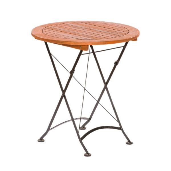 Outdoor Tisch rund Bellagio braun