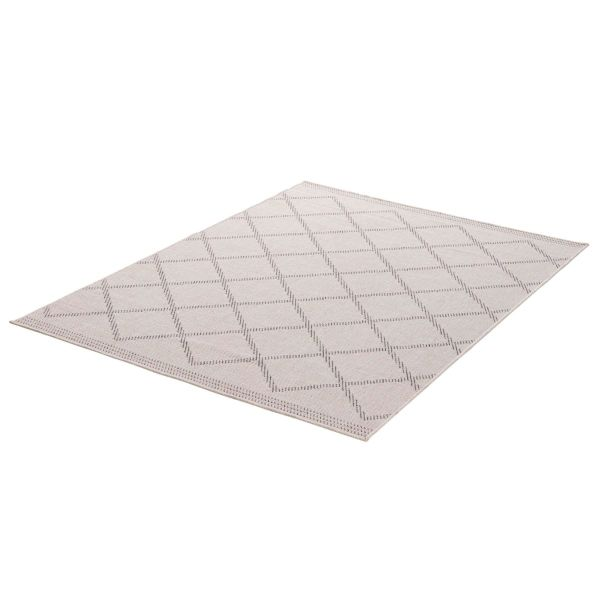 Outdoor-Teppich Mica Grau/Beige 200 x 290 cm