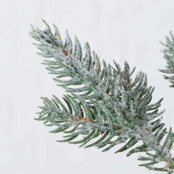 Kunstpflanze Schnee-Tanne Grün