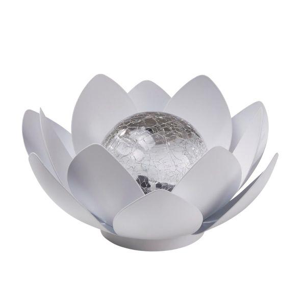 Solarleuchte Floris Weiß