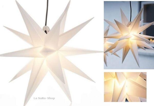 Outdoor-Leuchtstern Weiß
