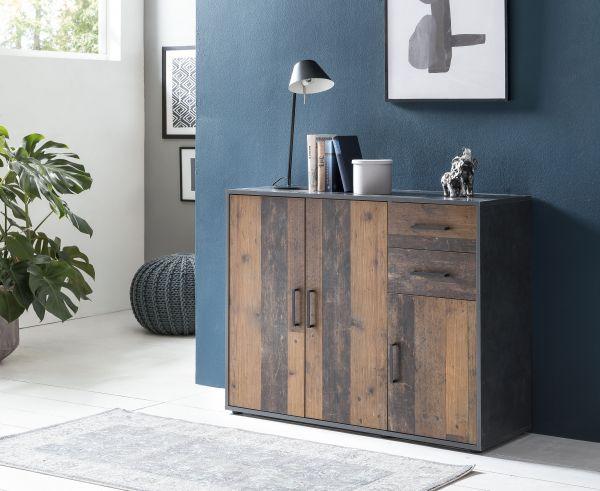 Sideboard mit 3 Türen & 2 Schubladen