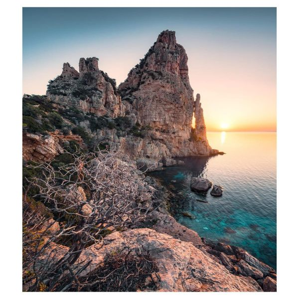 Vlies Fototapete Küste Sardinien