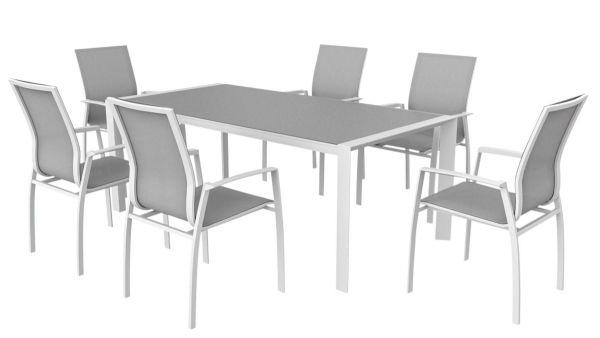 xOutdoor Möbel Set Cordoba Weiß