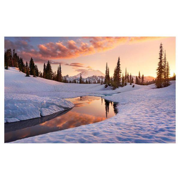 Vlies Fototapete Winterlandschaft