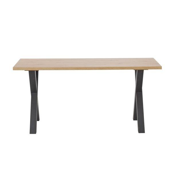Tisch Thore Natur Schwarz 160 cm