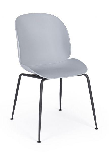 Stuhl-Set, 4-tlg. Marco Hellgrau
