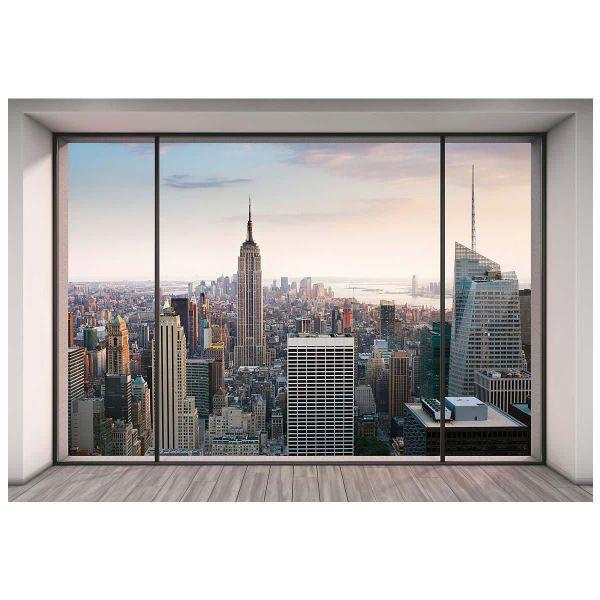 Fototapete New York von oben