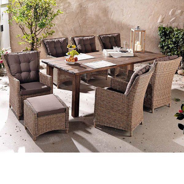 Outdoor-Tisch Ponto 180 x 100 cm