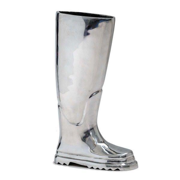 Regenschirmständer Stiefel Alu