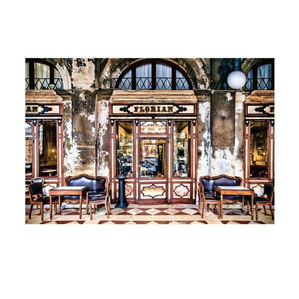 Vlies Fototapete Café