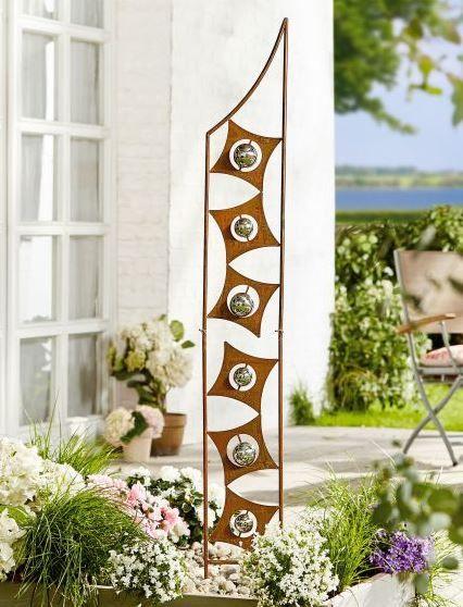 Gartenstecker Art Stecker Rostik