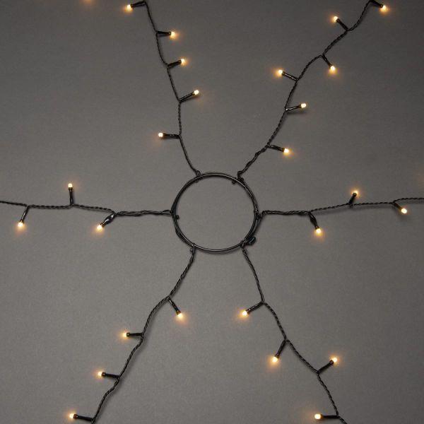 LED-Tannenbaum-Beleuchtung Baummantel Kupferfarben 240 cm