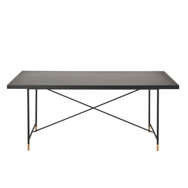 Tisch Pierre Schwarz 180 x 90 cm