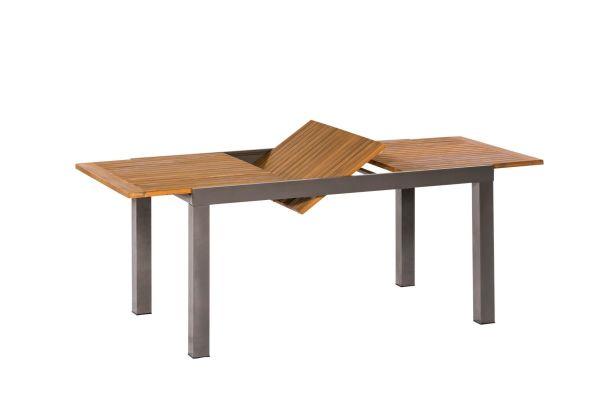 Outdoor-Tisch Santorin Natur/Grau