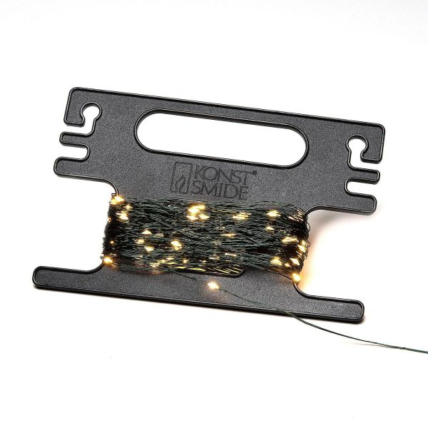 LED-Lichterkette mit Aufroller Mari Grün