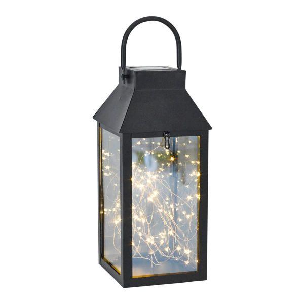 Solarleuchte Lantern Schwarz