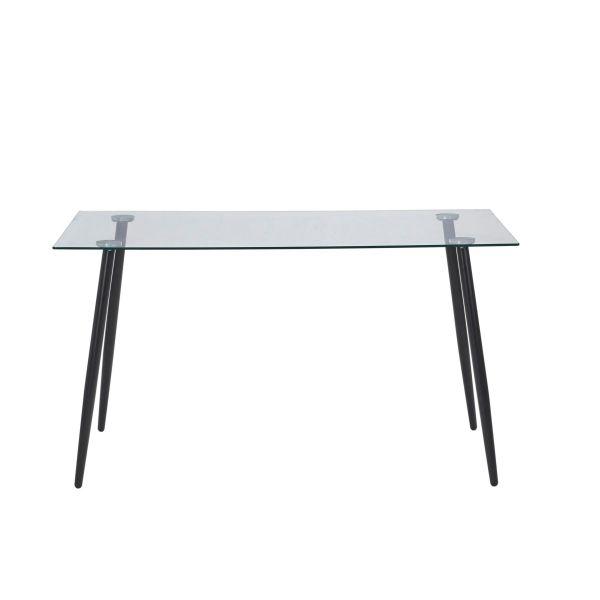 Tisch Jack Schwarz 140 x 80 cm