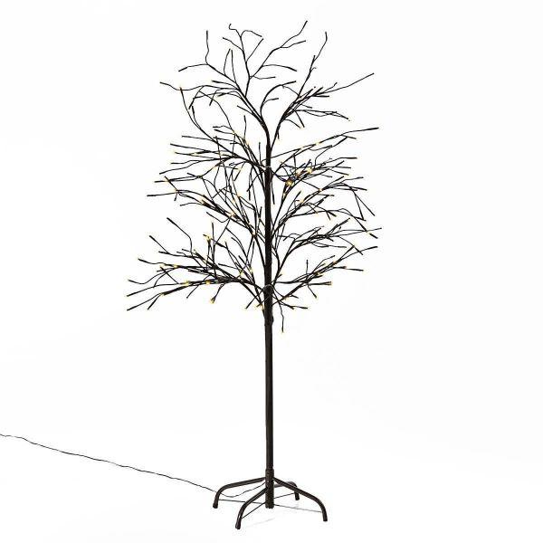 LED-Baum Trauerweide Braun